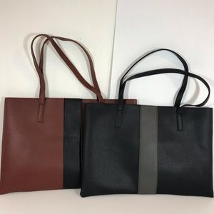 Vince Camuto Vegan leather totes
